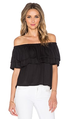 Rebecca Minkoff Dev Top in Black