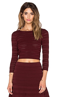 Rebecca Minkoff Birdland Top in Wine
