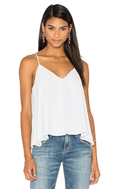 Rebecca Minkoff Blanche Top in Smoke Grey