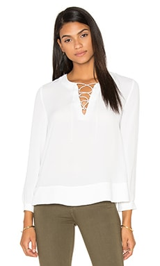 Rebecca Minkoff Nell Top in Chalk