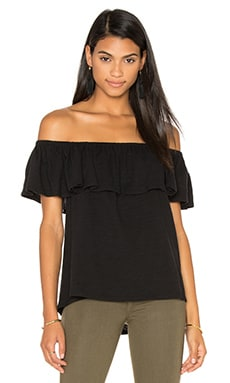 Rebecca Minkoff Diosa Top in Black