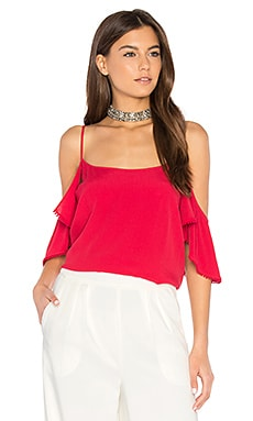Aida Top in Cherry Bomb
