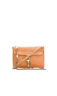 Rebecca Minkoff Mini Mac Crossbody Bag in Almond