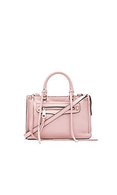 Micro Regan Satchel Bag in Vintage Pink