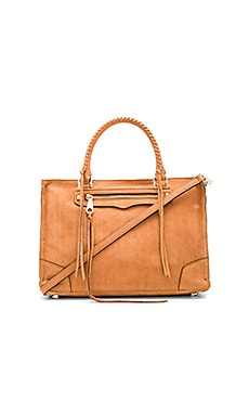 Regan Satchel in Almond