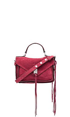Rebecca Minkoff Small Darren Messenger Bag in Tawny Port