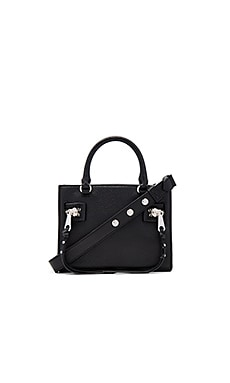 Small Geneva Satchel Bag in Black