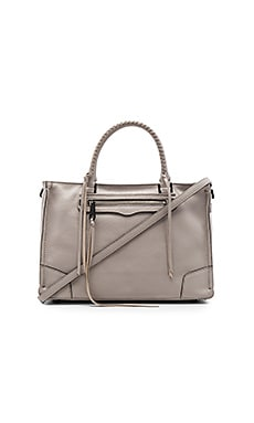 Regan Satchel Bag in Putty