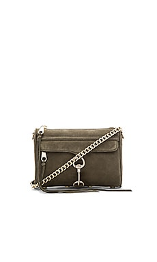 Mini Mac Crossbody Bag in Olive
