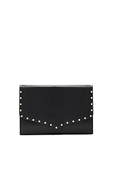 Biker Clutch in Black
