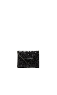 Glitter Molly Metro Wallet in Black