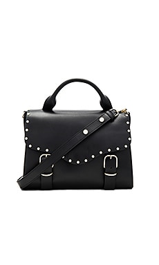 Biker Doctor Bag in Black