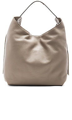 Bryn Double Zip Hobo Bag em Cogumelo