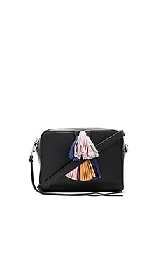 Mini Sofia Crossbody en Noir Multi