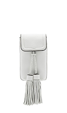 Isobel Phone Crossbody en Blanc Optique