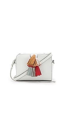 Mina Sofia Crossbody in Optic White Multi