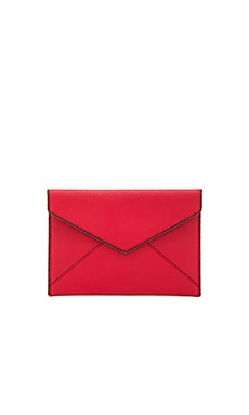 Leo Clutch in Blood Orange