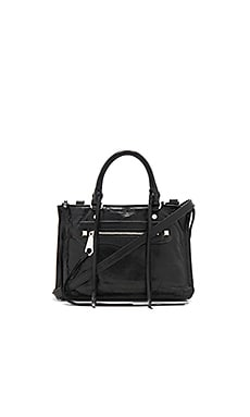 Micro Regan Satchel in Black