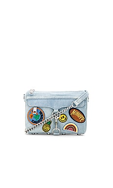 Mini Mac Bag in Light Denim