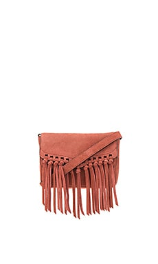 Rapture Small Shoulder Bag in Brick