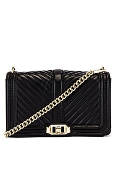 Chevron Quilted Love Crossbody Bag Rebecca Minkoff $295