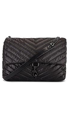 Edie Nylon Jumbo Flap Shoulder Bag Rebecca Minkoff $229 NEW