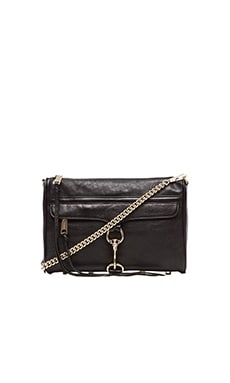 Rebecca Minkoff MAC Clutch in Black