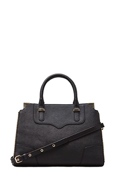 Amorous Satchel in Black