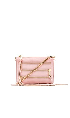 Rebecca Minkoff Mini 5 Zip in Quartz