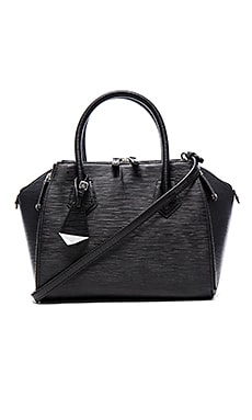 Mini Perry Satchel in Black
