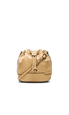 Rebecca Minkoff Mini Fiona Bucket Bag in Biscuit
