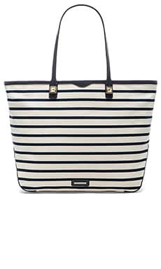 Rebecca Minkoff Everywhere Tote in Navy Stripe
