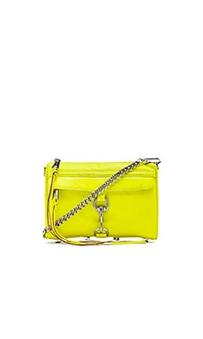 Rebecca Minkoff Mini MAC in Electric Yellow