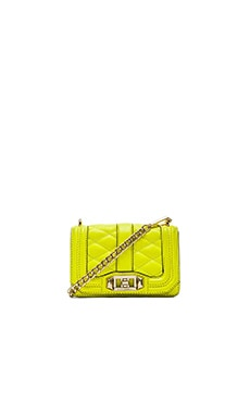 Rebecca Minkoff Mini Love Crossbody in Electric Yellow