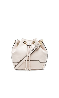 Rebecca Minkoff Mini Fiona Bucket Bag in Seashell