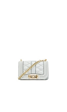 Rebecca Minkoff Mini Love Crossbody in Fog