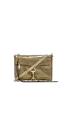 Rebecca Minkoff Mini MAC in Gold