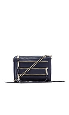 Rebecca Minkoff Mini 5 Zip in Midnight