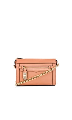 Rebecca Minkoff Mini Crosby Crossbody in Apricot