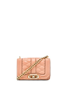 Rebecca Minkoff Mini Love Crossbody in Apricot