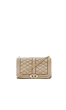 Rebecca Minkoff Love Crossbody in Khaki