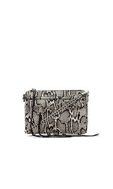 Rebecca Minkoff Mini MAC in Snake Print