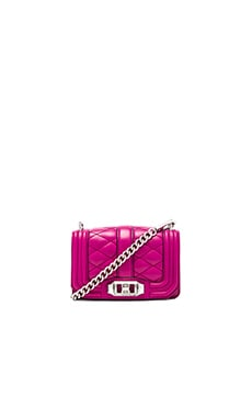 Rebecca Minkoff Mini Love Crossbody in Magenta