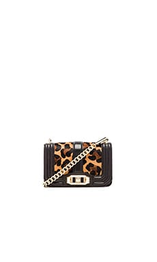 Rebecca Minkoff Mini Love Crossbody in Leopard