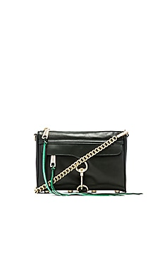 Rebecca Minkoff Mini Mac in Dark Forest