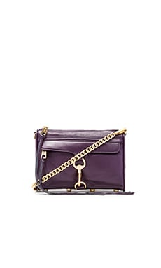 Rebecca Minkoff Mini Mac in Aubergine