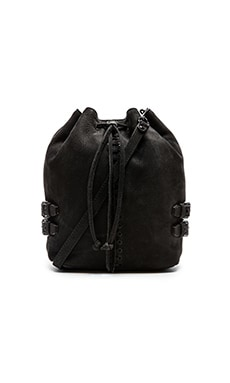 Rebecca Minkoff Moto Bucket in Black