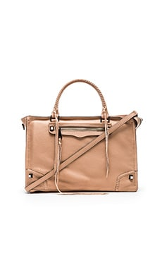 Rebecca Minkoff Regan Satchel in Latte