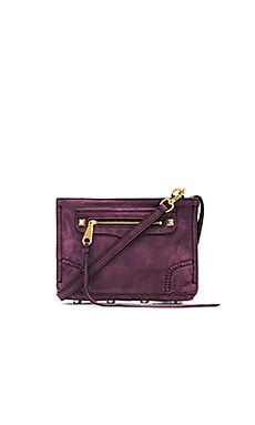 Rebecca Minkoff Regan Crossbody in Aubergine