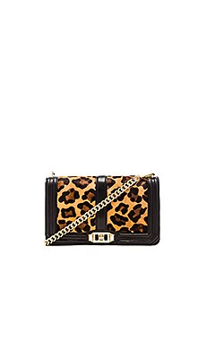 Rebecca Minkoff Love Crossbody in Leopard Print
